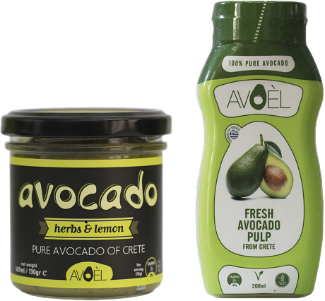 AVOCADO WITH<br/>HERBS &amp; LEMON